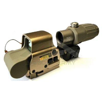 EXPS3 Red Dot + G33 3X Magnifer Set