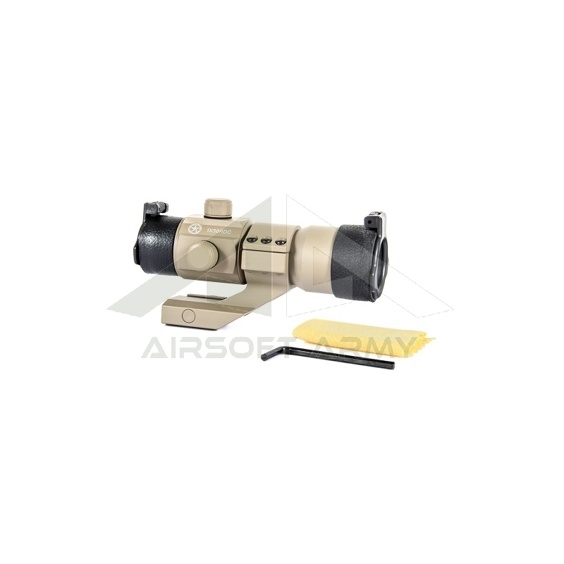 Tactical Red/Green Dot w/Angle Mount (Desert Color)