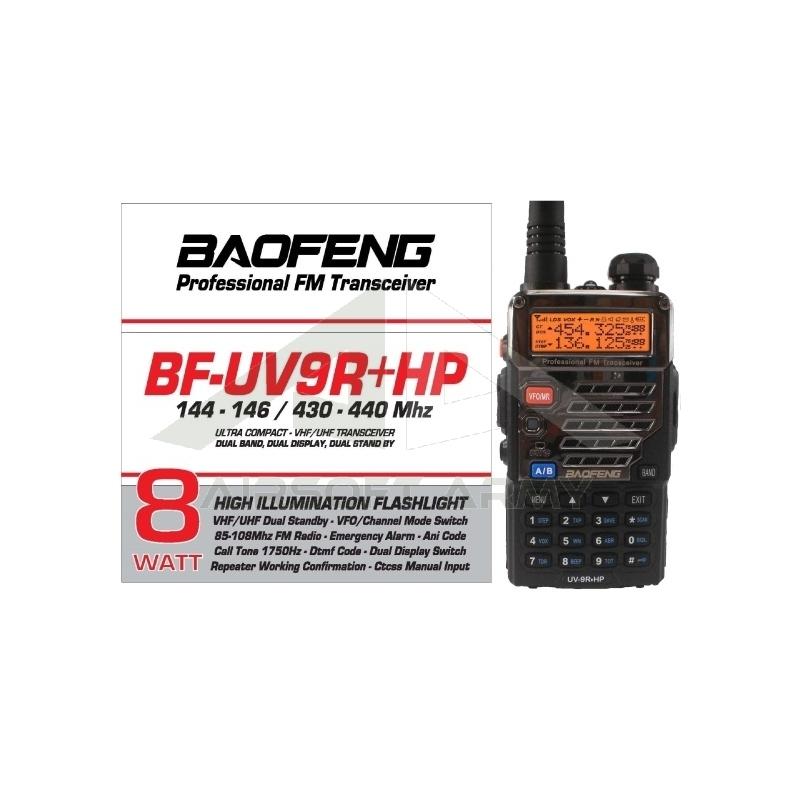 RADIO PROFESSIONALE UV9R+HP