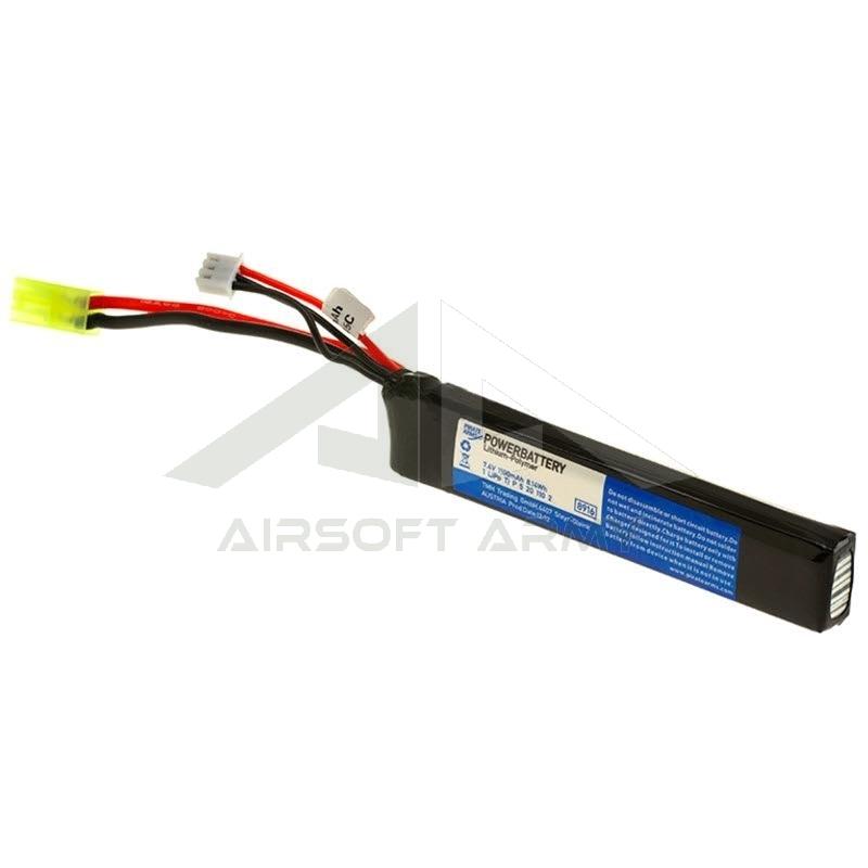 Batteria Lipo Stick 1100mah 7.4v