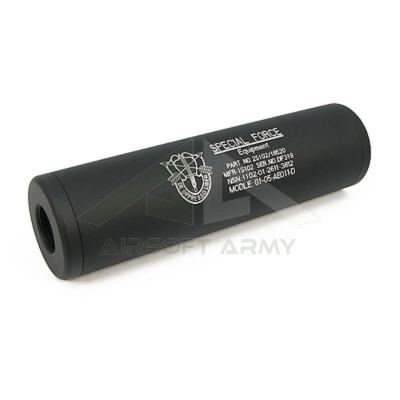 Silenziatore 110mm Special Forces CW/CCW