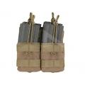 Tasca Portacaricatori Doppia Sovrapposta M4/M16/AR15