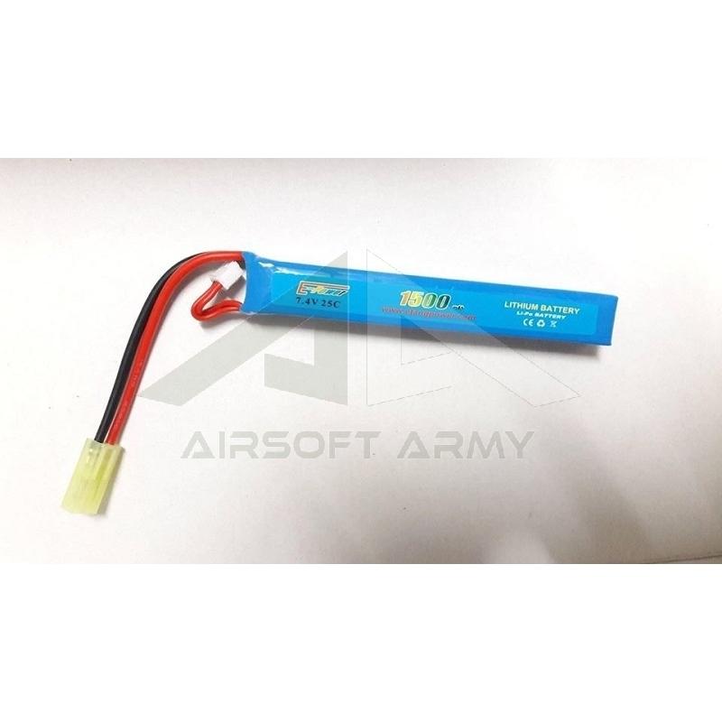 Batteria Li-Po 7.4V x 1500mAh 25C