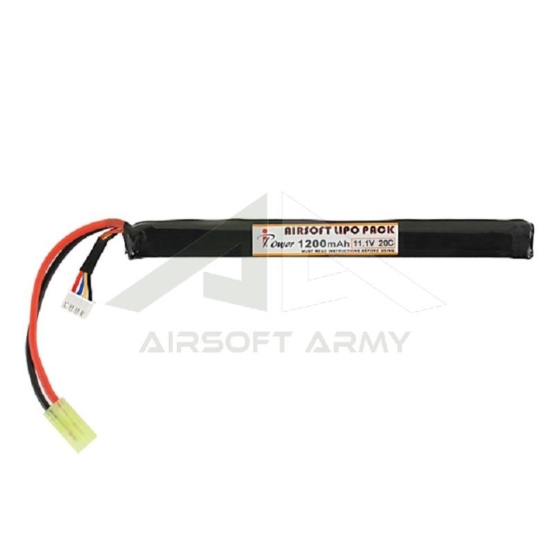 Batteria Lipo 11.1v 1200mAH 20c