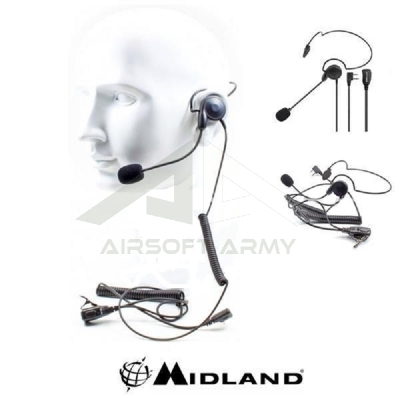 Auricolare Microfono AB29 Con Archetto