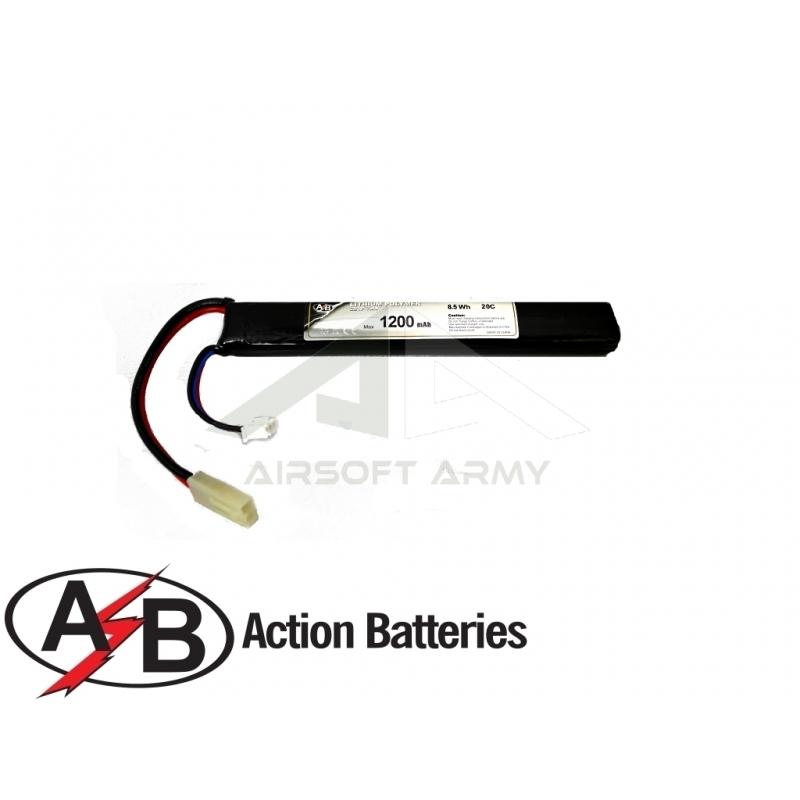 Batteria Lipo 7.4v 1200mah 20c