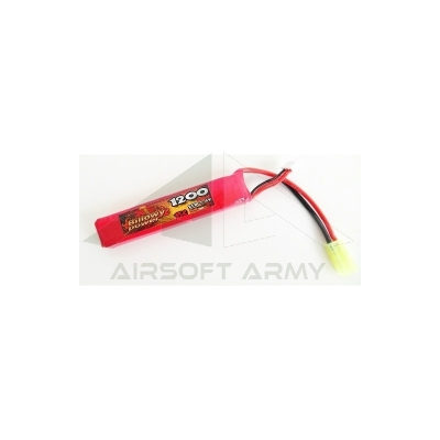 Batteria per tubo billowy power 7.4v 1200mah 15c